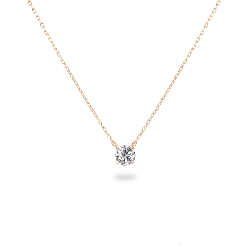 0.3ct Solitaire Diamond Necklace - PRMAL