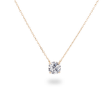 0.5ct Solitaire Diamond Necklace - PRMAL