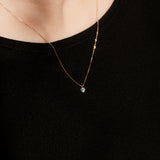 0.1ct Nude Diamond Necklace