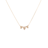 Trio Diamond Necklace