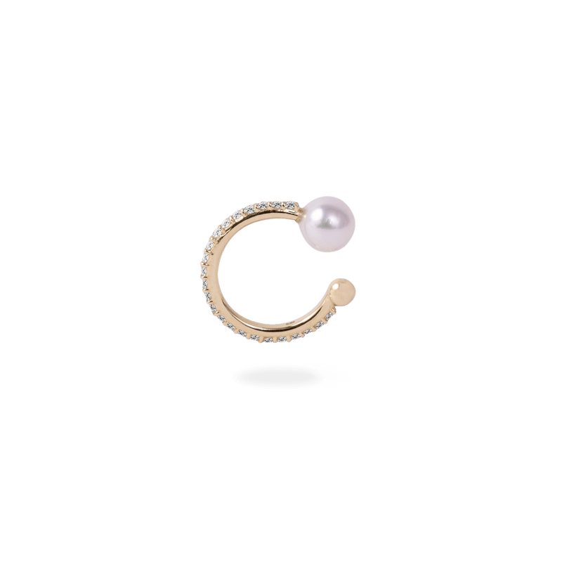 Ball Ear Cuff [Pearl] - PRMAL