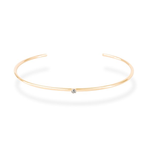 Diamond Basic Bangle - PRMAL