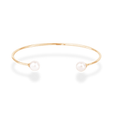 Double Pearl Bangle - PRMAL