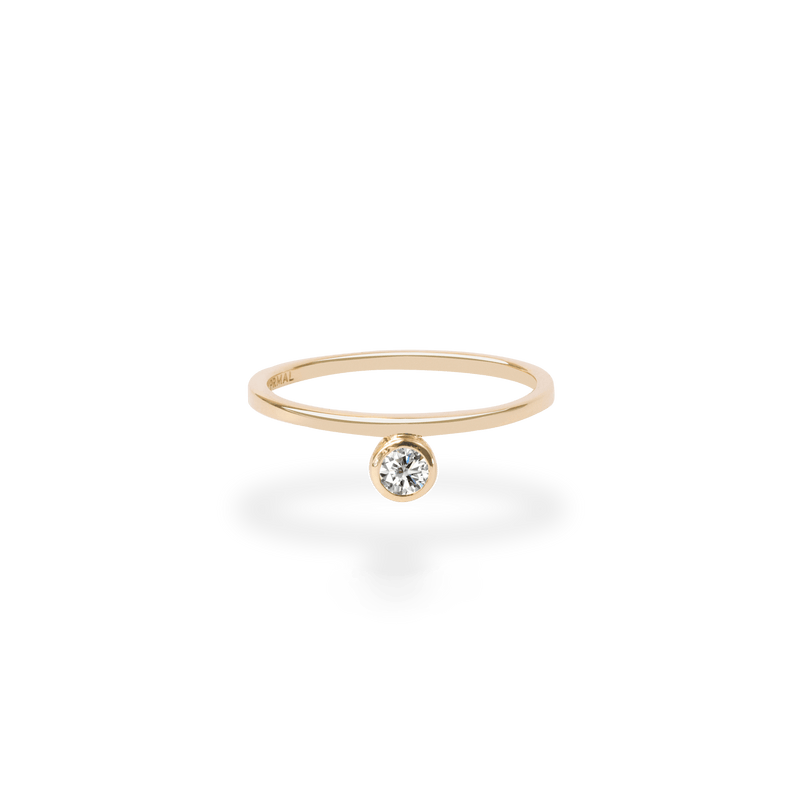 Floating Bezel Ring - PRMAL