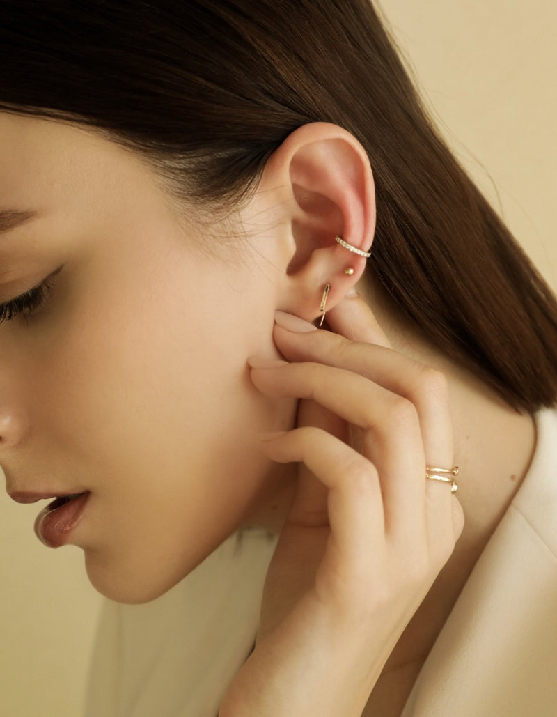 Mini Pave Ear Cuff - PRMAL