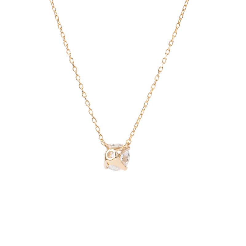 0.5ct Solitaire Diamond Necklace