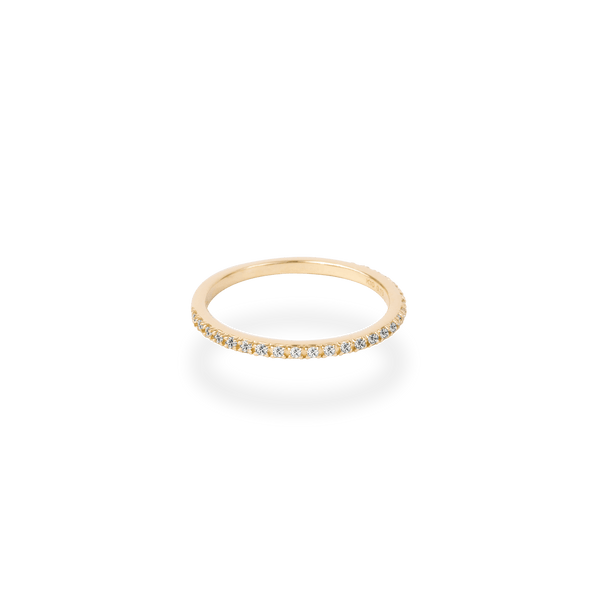 Pave Diamond Ring - PRMAL