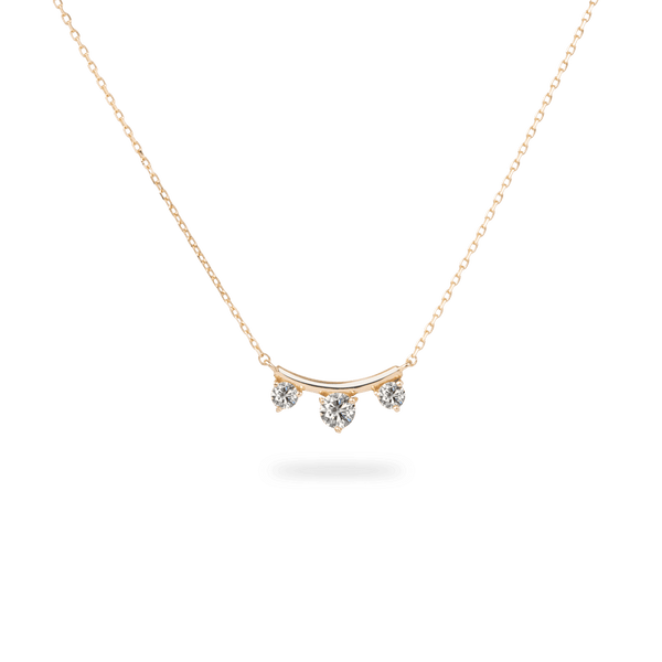 Trio Diamond Necklace - PRMAL