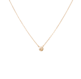 0.05ct Bezel Diamond Necklace