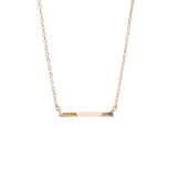 Pave Line Necklace