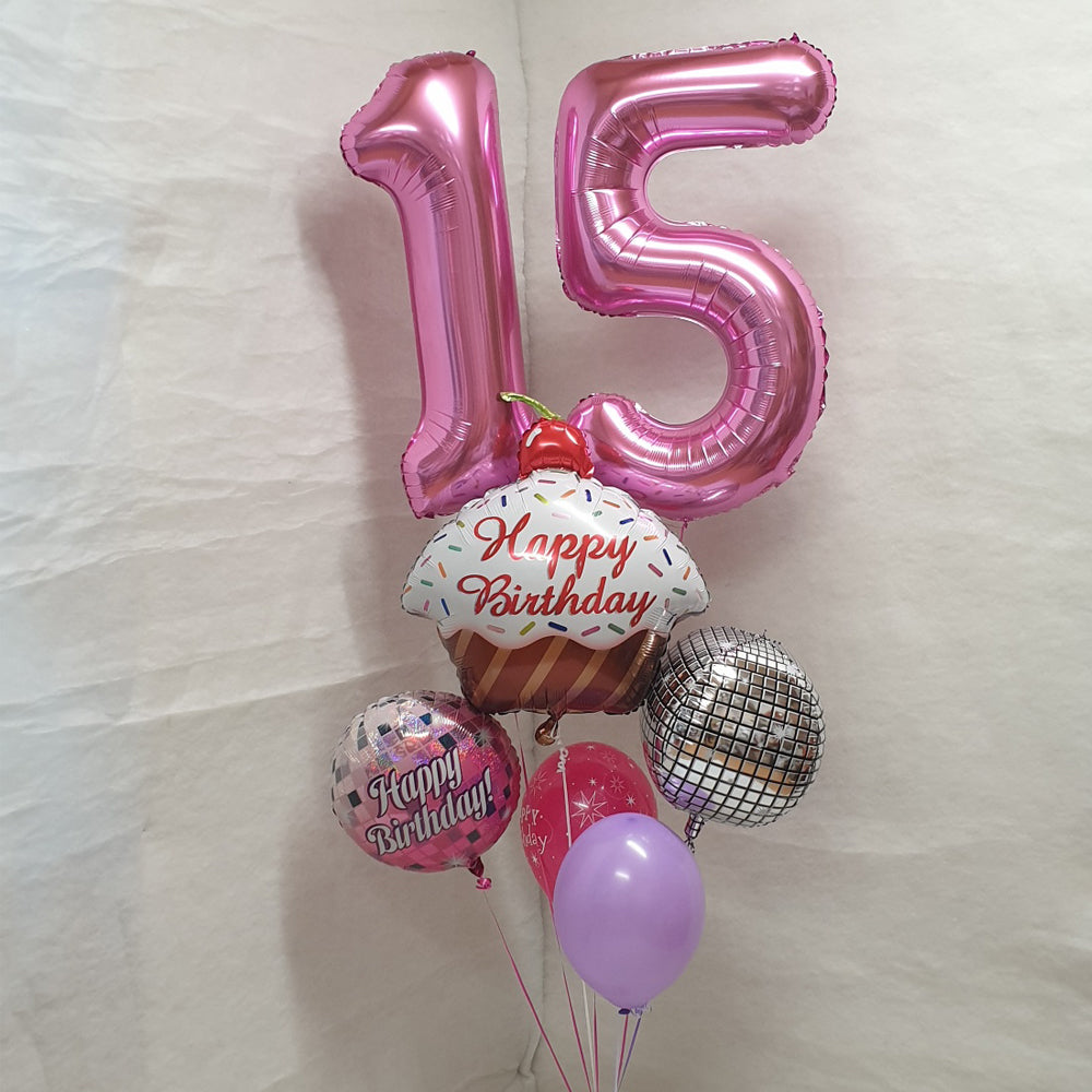 Helium filled Jumbo numbers