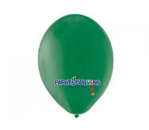 Green Balloons - 011 Bag of 50 Belbal Balloons