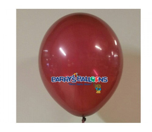 Burgundy Balloons - 024 Bag of 50 Bebal Balloons