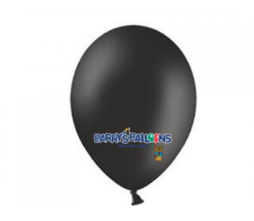 Black Balloons - 025 Bag of 50 Belbal Pastel Balloons