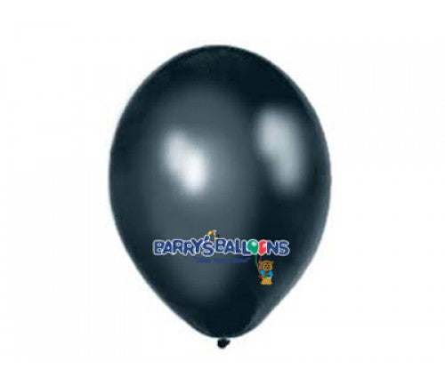 Black Balloons - 090 Bag of 50 Belbal Pearlised Balloons