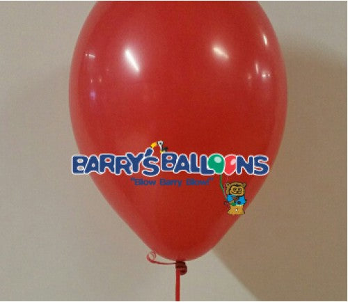 Red Balloons - 101 Bag of 50 Belbal Balloons