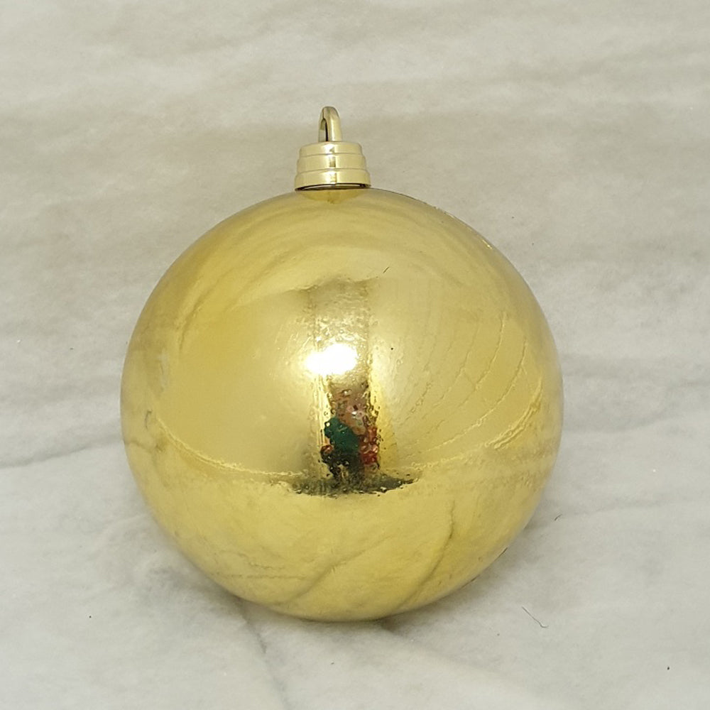 30cm Gold Shiny Christmas Bauble