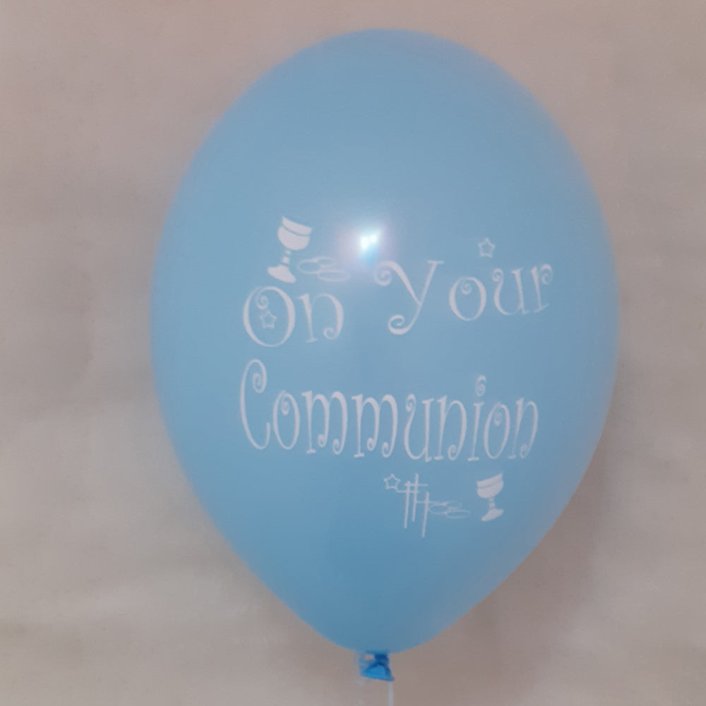 Communion Printed Balloons