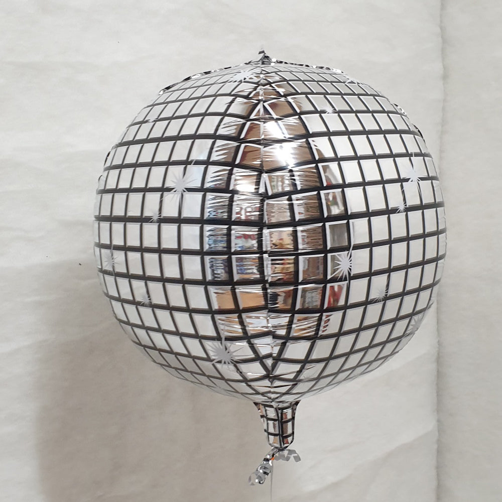 Disco Ball Balloon - uninflated