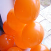 Orange Balloons - E82 Bag Of 50 Eire Pastel Balloons