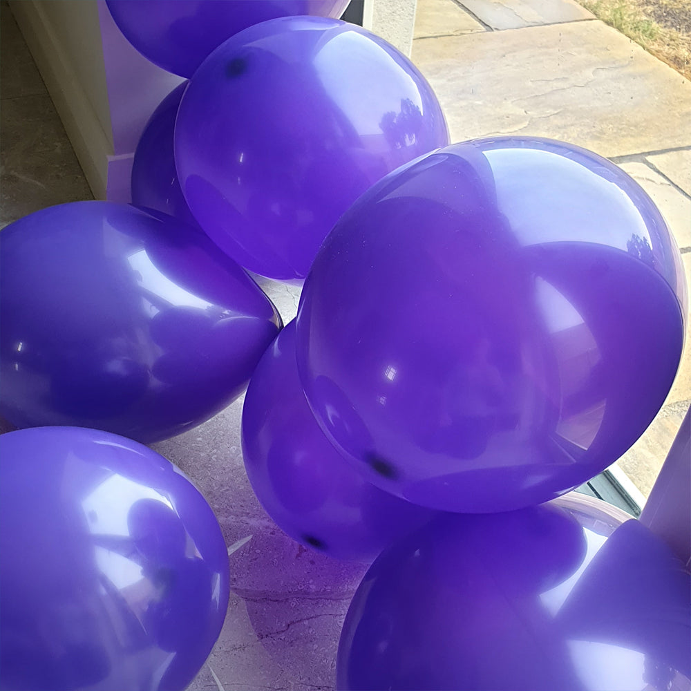 Purple Balloons - E91 Bag of 50 Eire Pastel Balloons