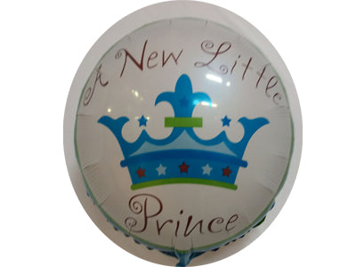 It's a boy - New little prince - supplied uninflated