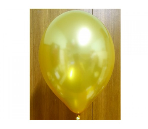 Gold Balloons - E37 Bag of 50 Eire Pearlised Balloons