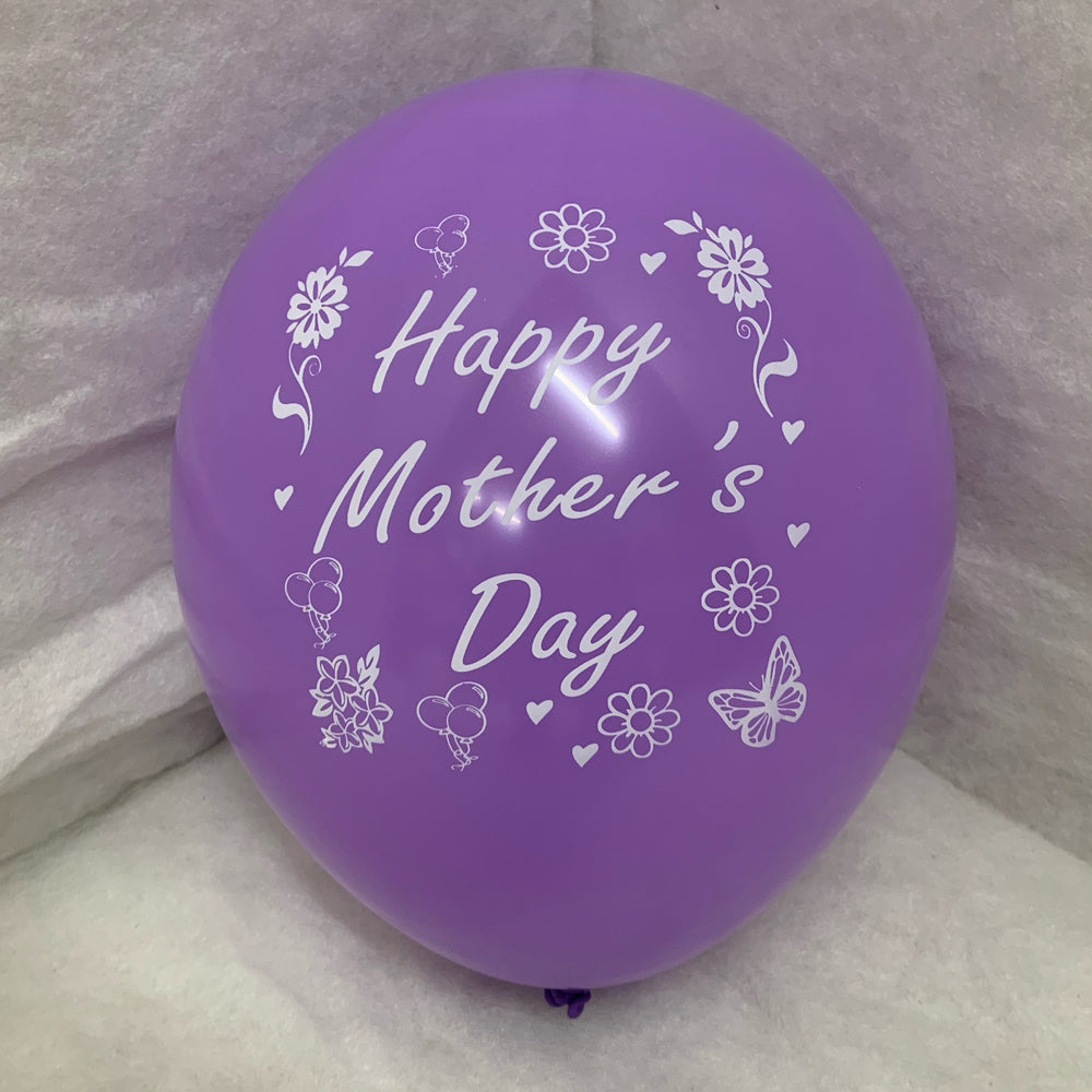Mother's Day Printed Balloons