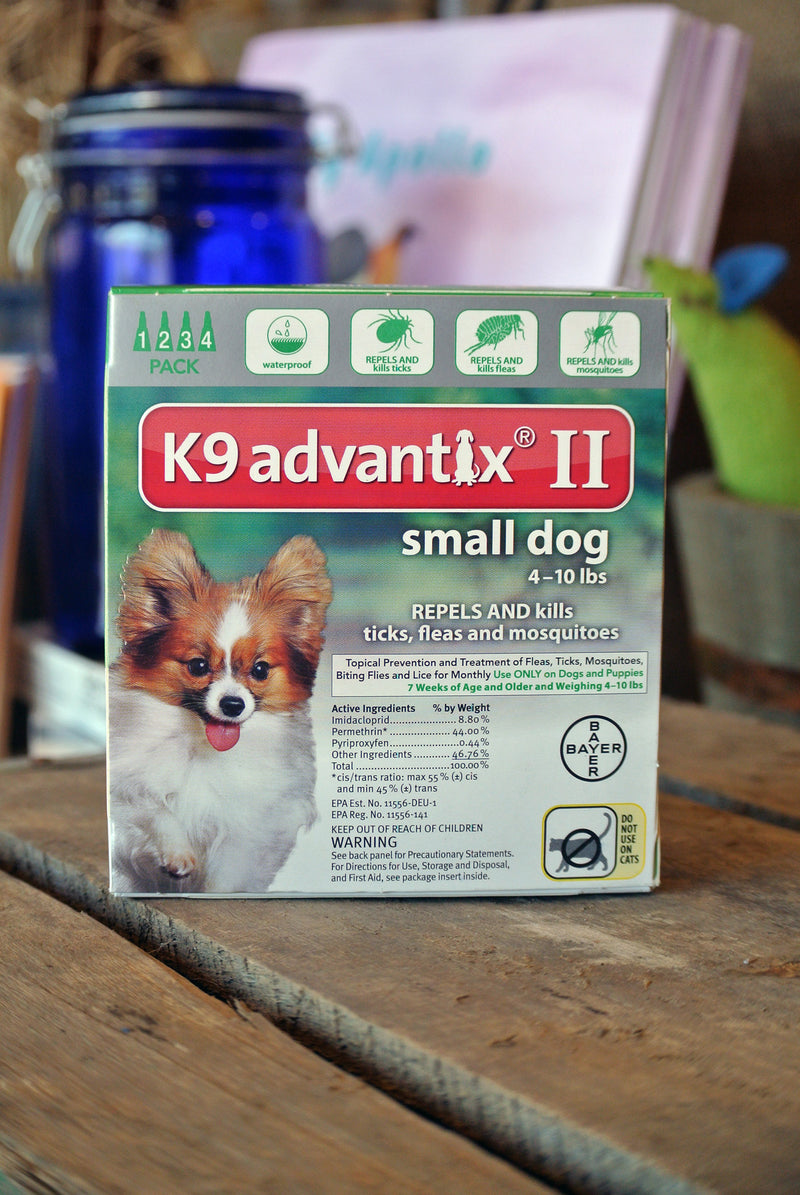 K9 Advantix® II for Small Dogs -- 4 pack