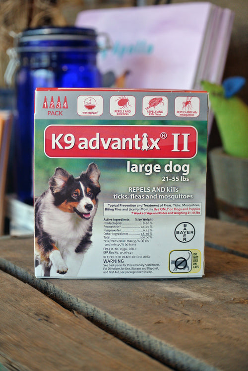 K9 Advantix® II for Large Dogs -- 4 pack