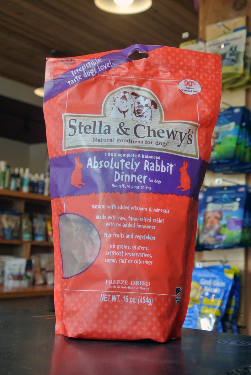Stella & Chewy's® Absolutely Rabbit™ Dog Dinner -- 16 oz bag