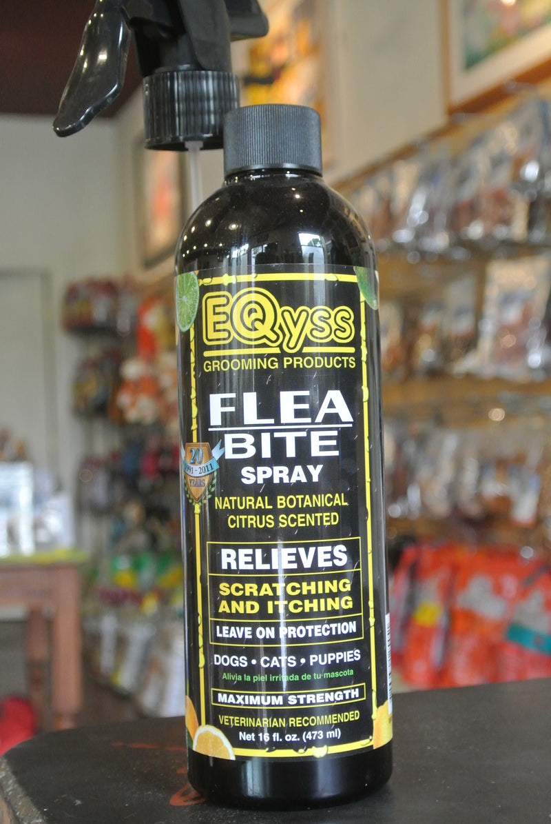 Eqyss Flea Bite Pet Spray -- 16 oz