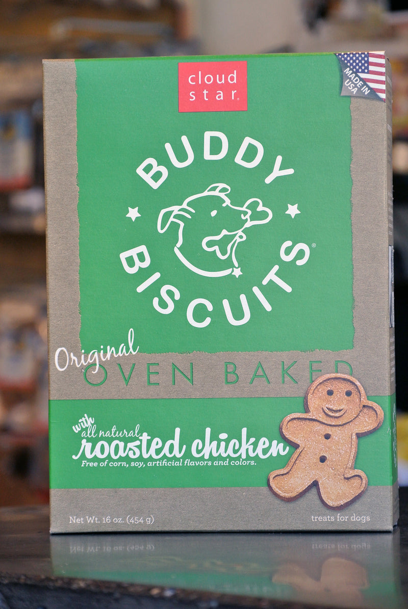 Cloud Star Oven Baked Chicken Buddy Biscuits for Dogs -- 16 oz box