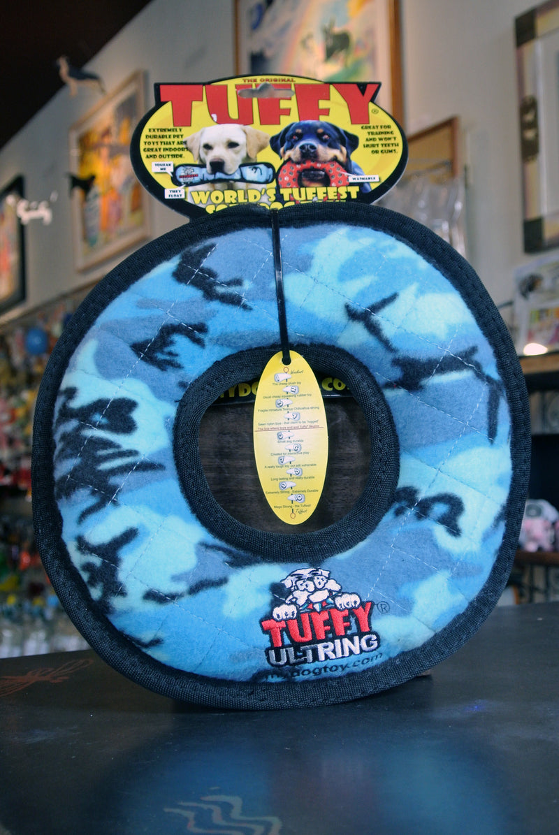 Tuffy's Ultimate Ring Plush Toys for Dogs