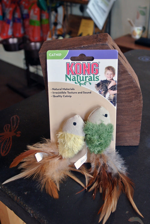 Kong Naturals Crinkle Fish Toy for Cats