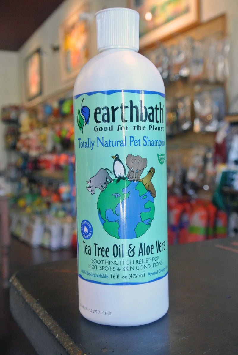 Earthbath® Tea Tree & Aloe Shampoo -- 16 oz