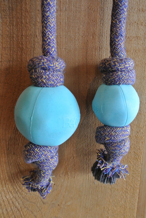BeCo Beco Ball on Rope Toy for Dogs