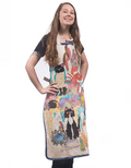 Model wearing Susan Lewis Apron.