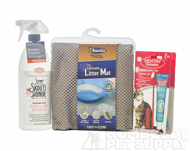 Cat Clean-up Essentials