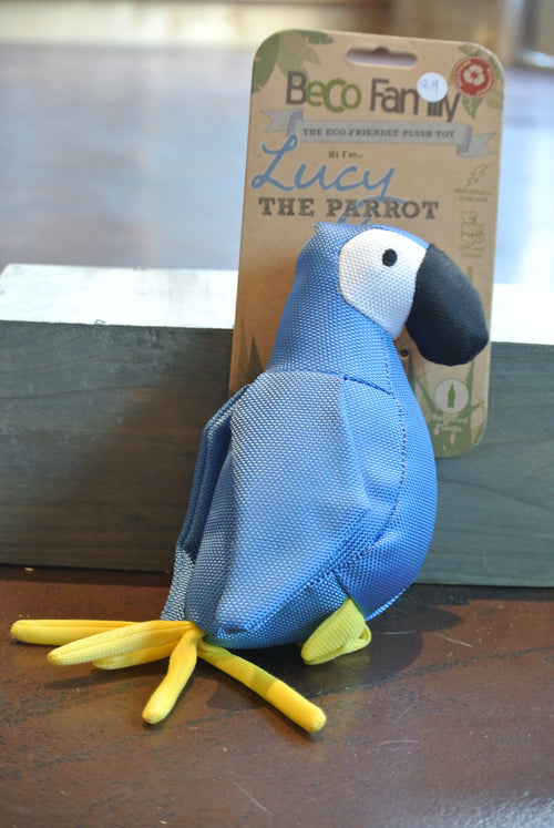 BeCo Plush Parrot Toy for Dogs