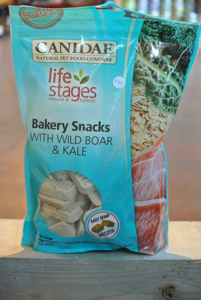 Canidae Bakery Snacks with Wild Boar Biscuits for Dogs