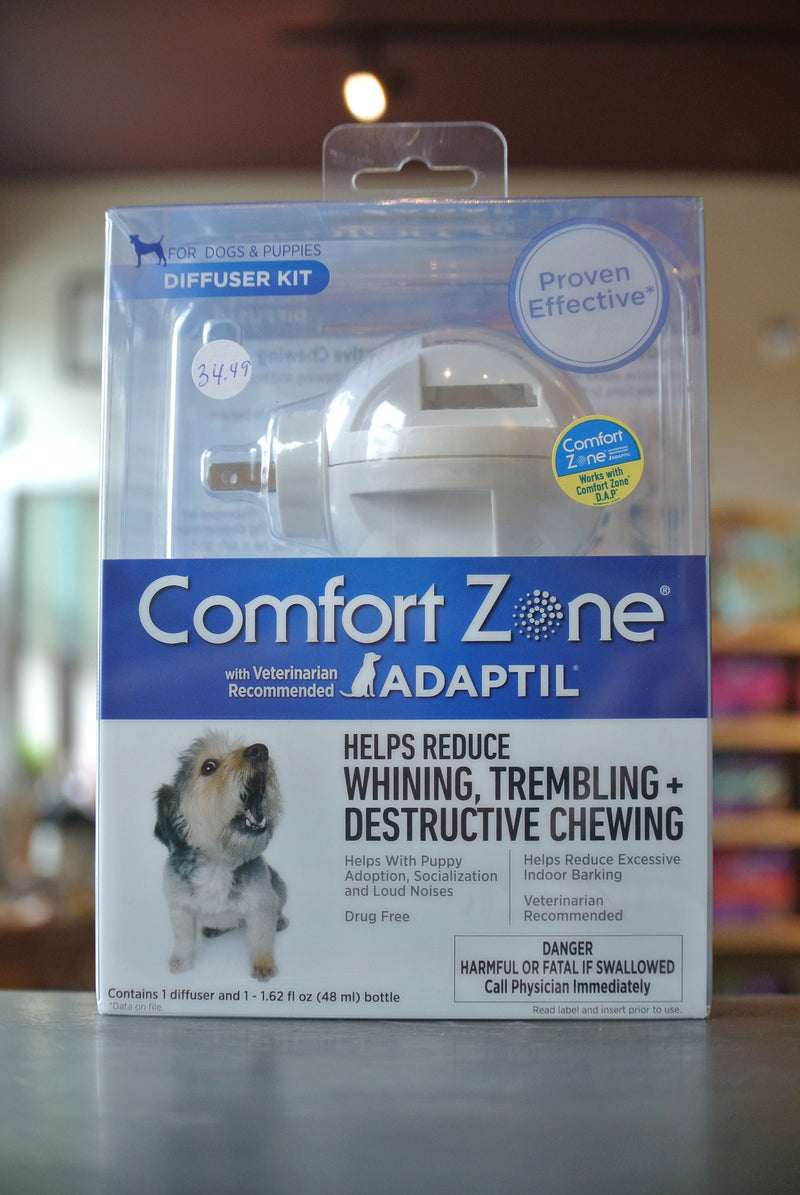 Farnam Comfort Zone Stress Reducing Pheromone Diffuser for Dogs & Puppies