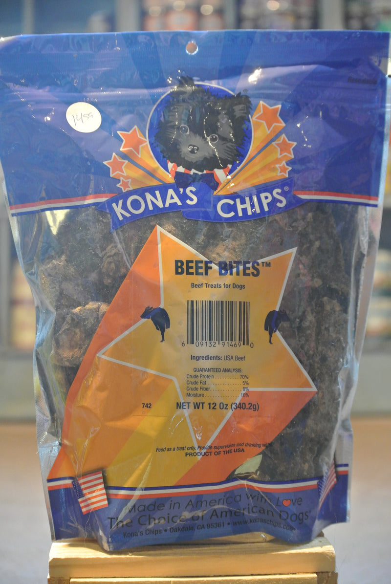 Kona's Chips® Beef Bites Treats for Dogs