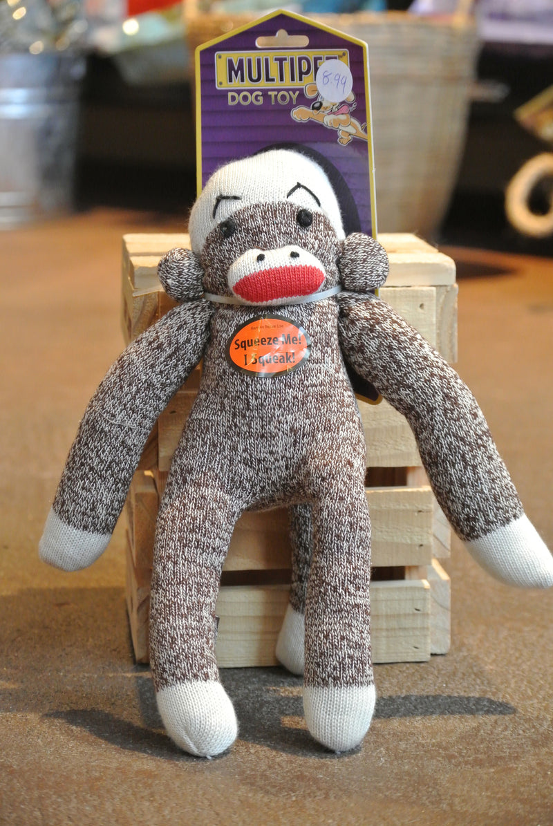 Multi-Pet Sock Pal Monkey