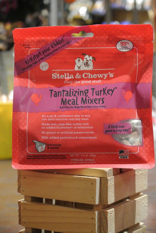 Stella & Chewy's Tantalizing Turkey Meal Mixers for Dogs