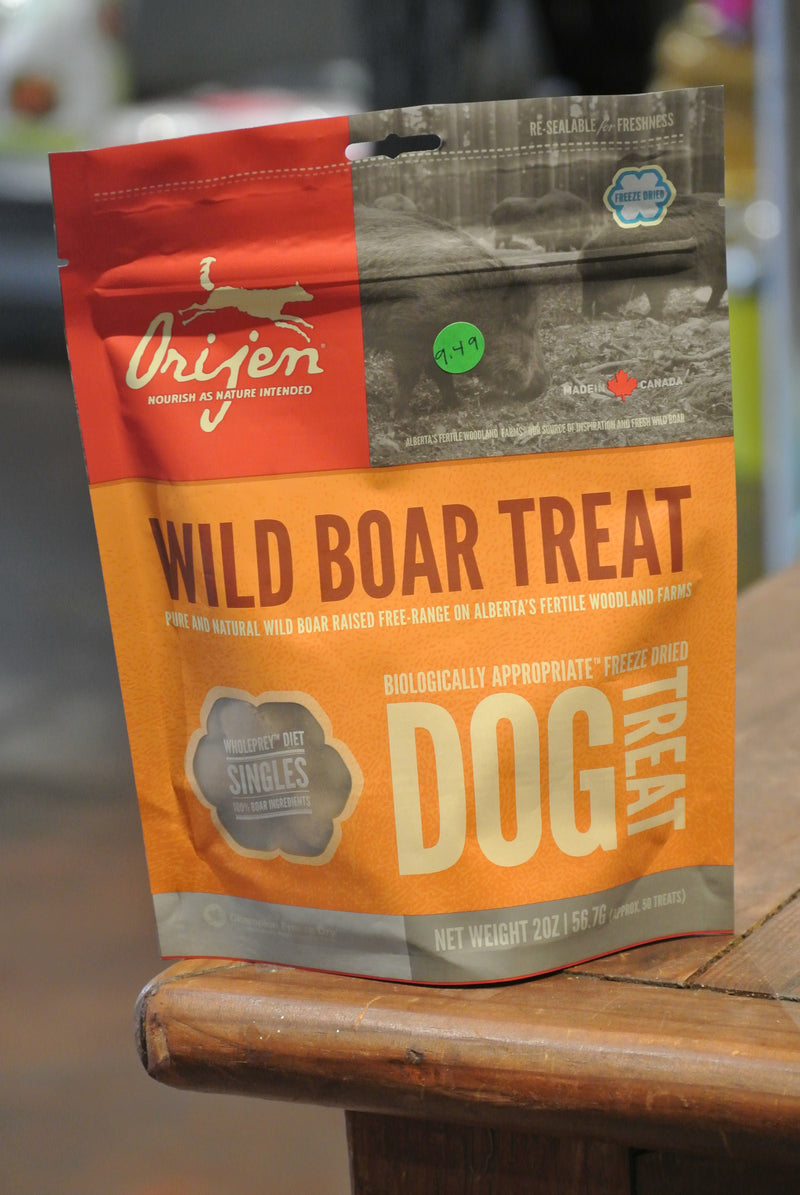 Orijen Wild Boar Freeze Dried Treats for Dogs
