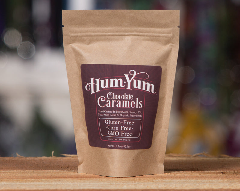Hum Yum Chocolate Caramels for Humans 1.5oz