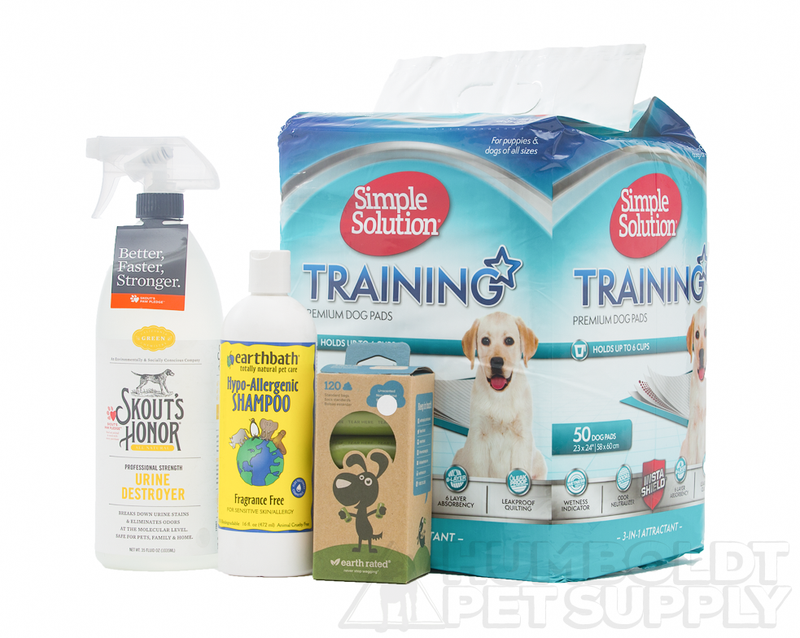Puppy Clean-up Essentials