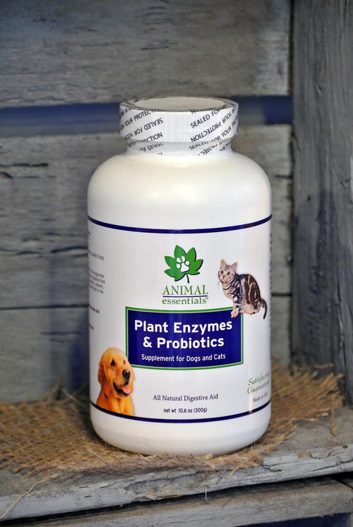 Animal Essentials® Plant Enzymes & Probiotics for Cats and Dogs