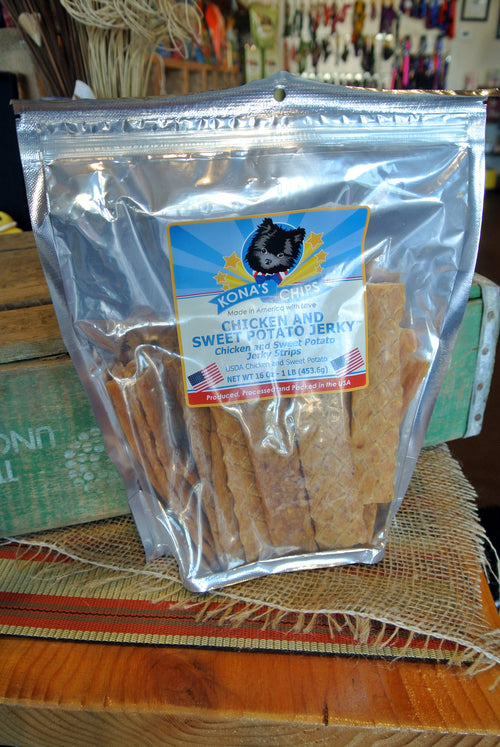 Kona's Chips® Chicken & Sweet Potato Jerky -- 1 lb